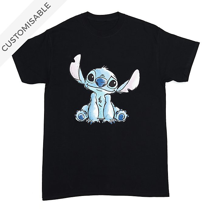 Stitch Sketch Customisable T-Shirt For Kids