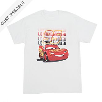 Lightning McQueen Customisable T-Shirt For Kids, Disney Pixar Cars