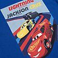 Disney Pixar Cars Customisable T-Shirt For Kids