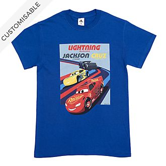 Disney Pixar Cars Customisable T-Shirt For Kids