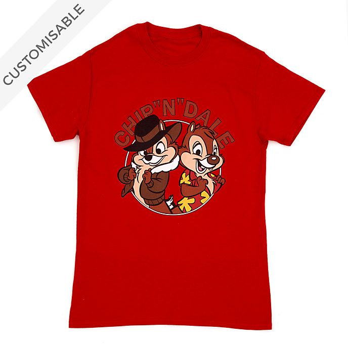 Chip 'n' Dale Customisable T-Shirt For Adults