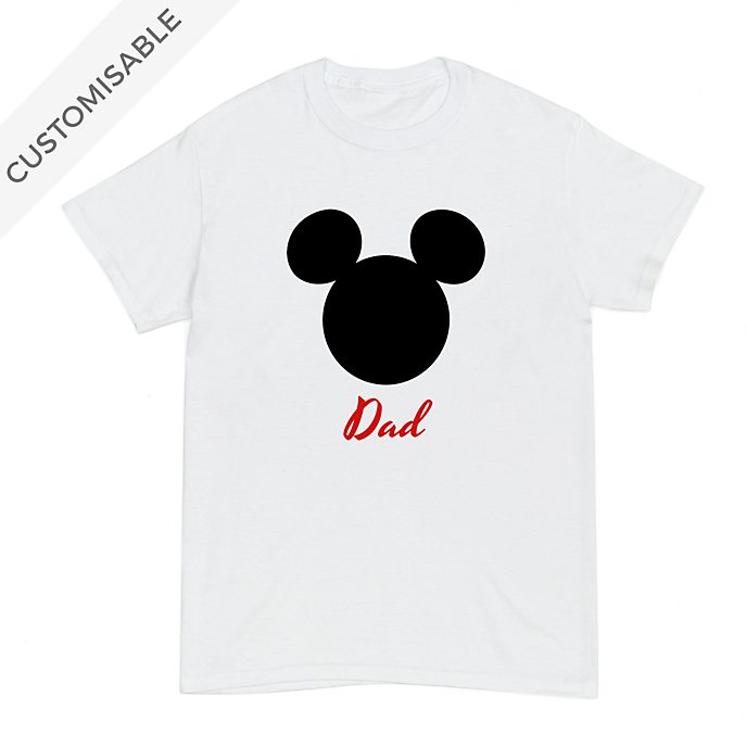 Mickey Mouse Icon Customisable T-Shirt For Adults