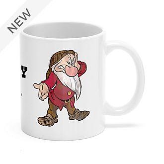 Grumpy Customisable Mug, Snow White and the Seven Dwarfs