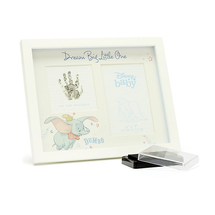 Disney Store Dumbo Baby Photo Frame with Ink Pad