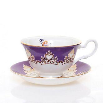 Tazza da tè e piattino in porcellana fine Rapunzel English Ladies Co.