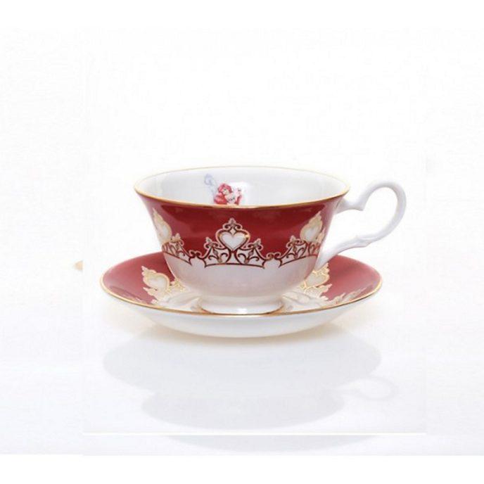 English Ladies Co. -Arielle - Teetasse mit Unterteller aus hochwertigstem Porzellan