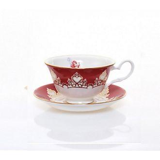 Tazza da tè e piattino in porcellana fine Ariel English Ladies Co.