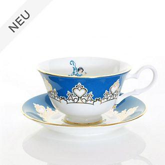 English Ladies Co. -Schneewittchen - Teetasse mit Unterteller aus hochwertigstem Porzellan