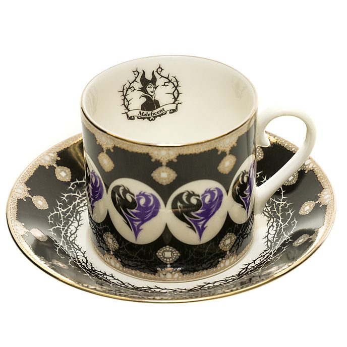 English Ladies Co. Bone China Maleficent Cup and Saucer