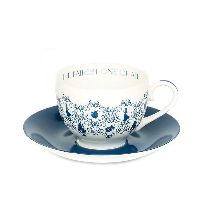 English Ladies Co. Tasse et soucoupe Blanche Neige en porcelaine fine