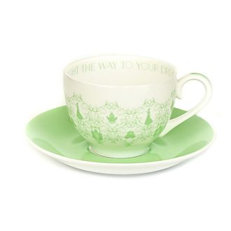 English Ladies Co. -Tiana Teetasse mit Untertasse aus hochwertigstem Porzellan