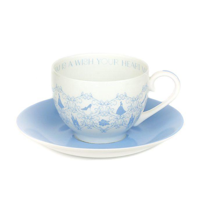 Tazza da tè e piattino porcellana English Ladies Co. Cenerentola