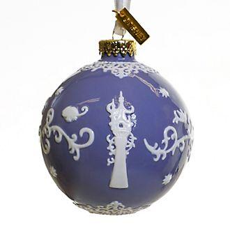 Decorazione da appendere in porcellana Rapunzel - L'Intreccio della Torre viola English Ladies Co.