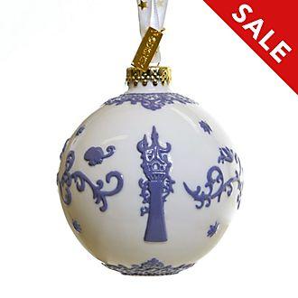 English Ladies Co. - Rapunzel - Neu verföhnt - Dekorationsstück aus hochwertigstem weißen Porzellan zum Aufhängen