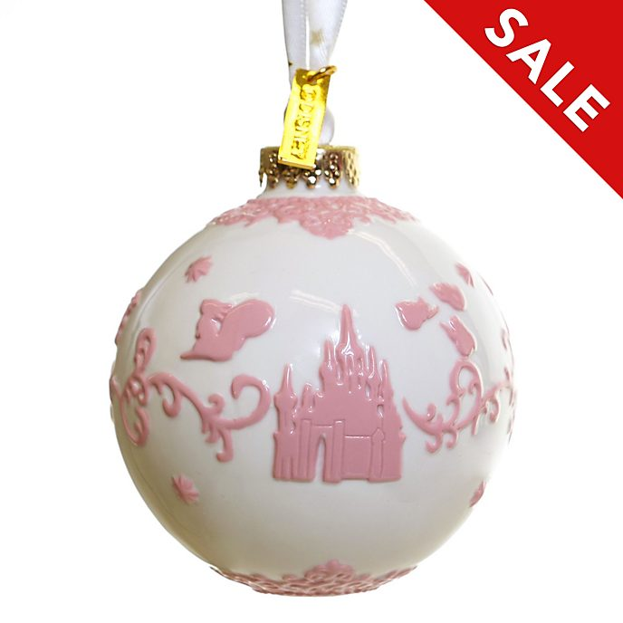 English Ladies Co. Sleeping Beauty White Fine China Hanging Ornament