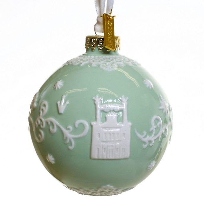 Decorazione da appendere in porcellana La Principessa e il Ranocchio verde English Ladies Co.