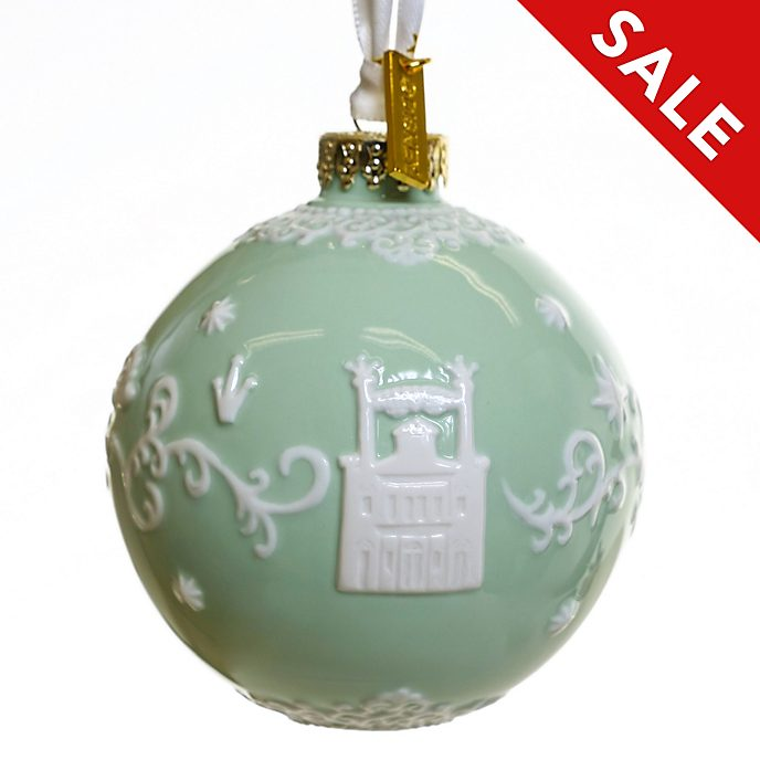 English Ladies Co. The Princess and the Frog Green Fine China Hanging Ornament