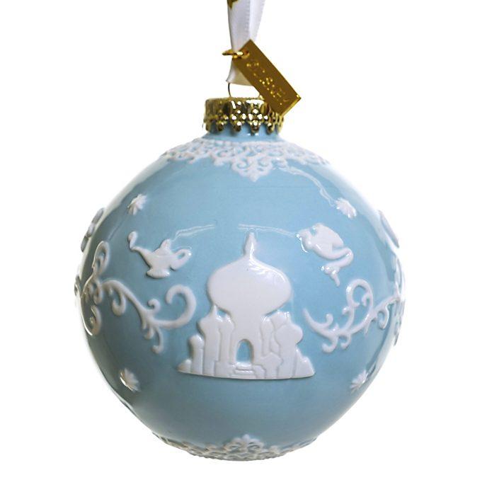 Decorazione da appendere in porcellana Aladdin azzurro English Ladies Co.
