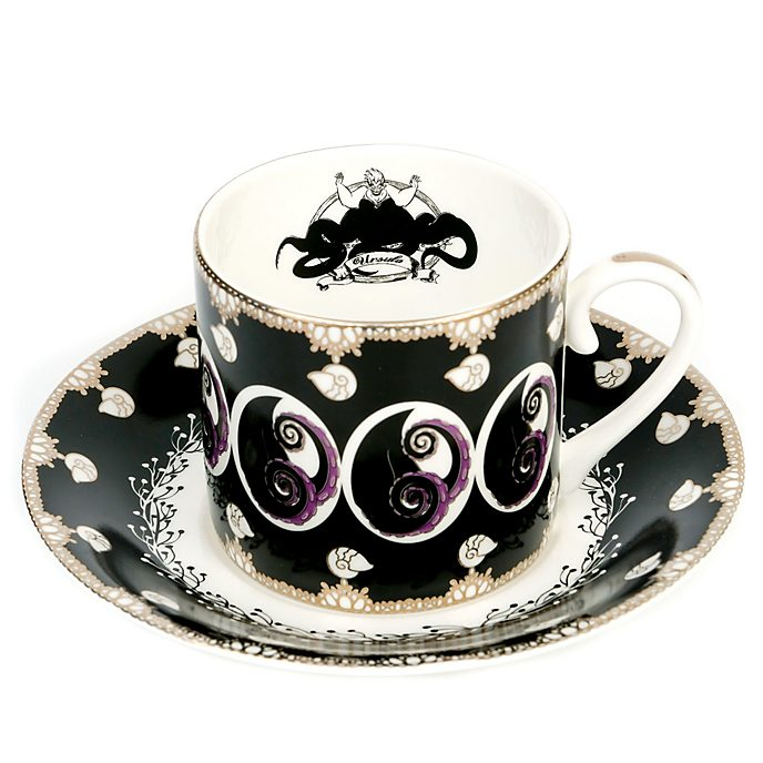 English Ladies Co. taza té y platillo porcelana fina ceniza hueso Úrsula