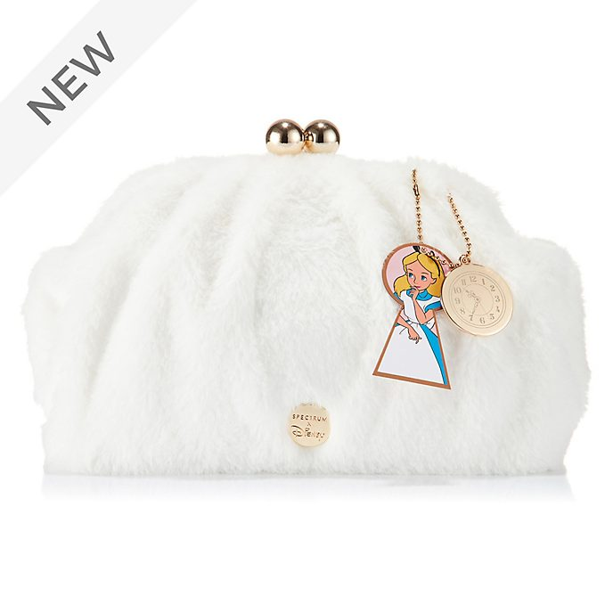 Spectrum White Rabbit Makeup Clutch , Alice in Wonderland