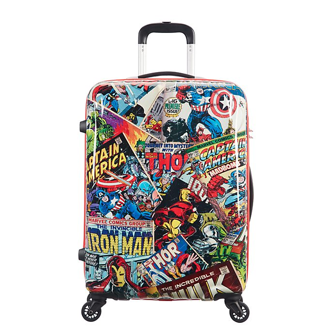 American Tourister Marvel Comics Medium Rolling Luggage