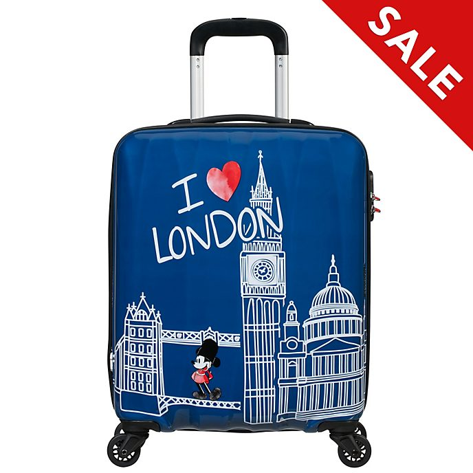 American Tourister - Micky Maus - kleiner London-Trolley
