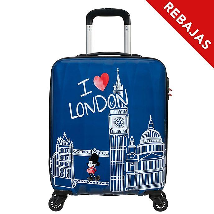 American Tourister maleta pequeña con ruedas Londres, Mickey Mouse