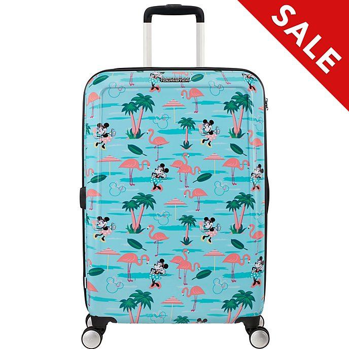 American Tourister - Minnie Maus - mittelgroßer Flamingo-Trolley