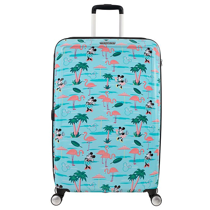 American Tourister maleta grande con ruedas flamenco, Minnie Mouse