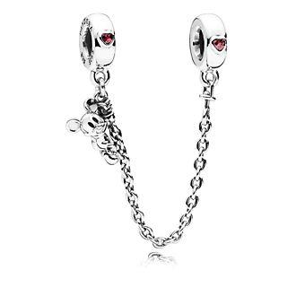 Disney X Pandora Climbing Mickey Safety Chain Charm