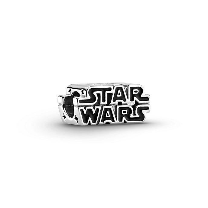 Star Wars X Pandora Silver 3D Logo Charm