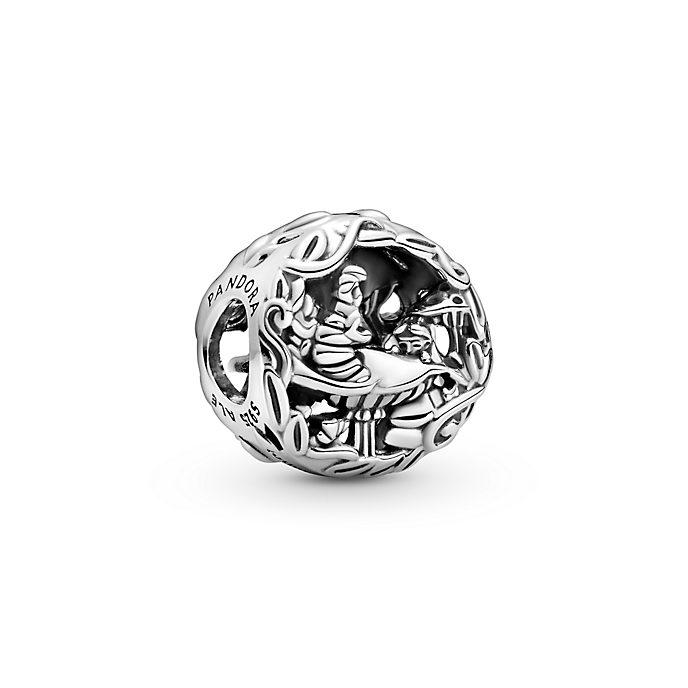 Disney X Pandora Alice in Wonderland, Cheshire Cat & Absolem Caterpillar Charm