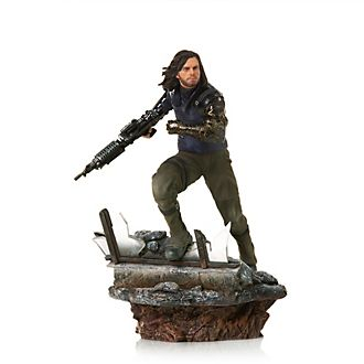 Iron Studios Winter Soldier Collectible Figure, Avengers: Endgame