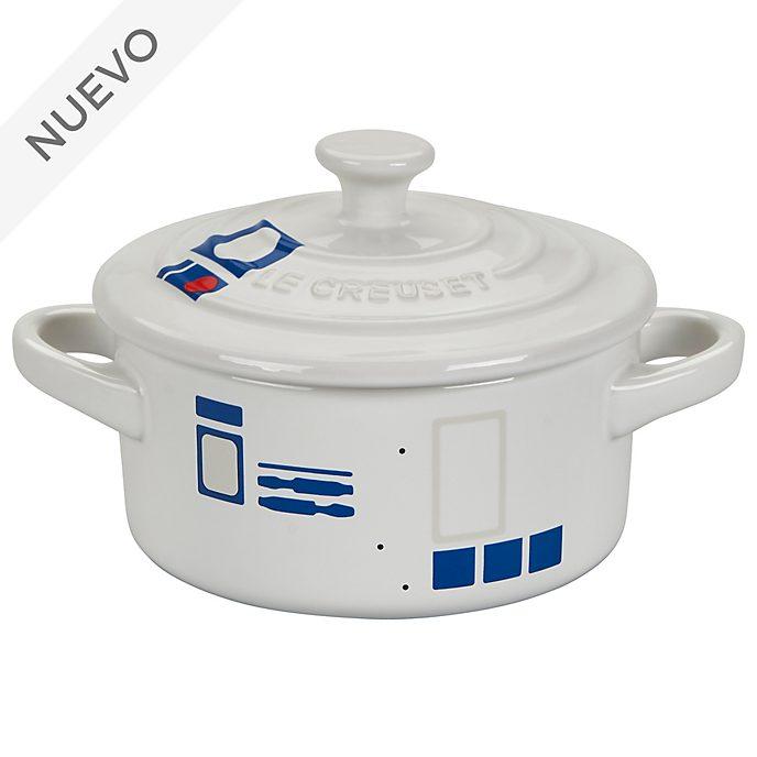 Cacerola con tapa redonda pequeña, R2-D2, Star Wars, Le Creuset