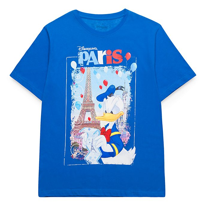 T-Shirt pour adultes Donald Duck Disneyland Paris