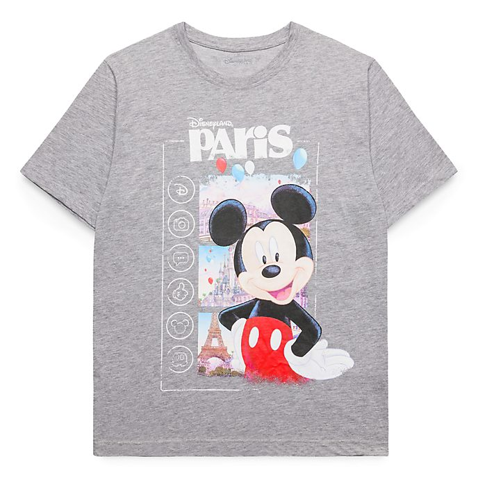 T-Shirt pour adultes Mickey Mouse Souvenir Disneyland Paris