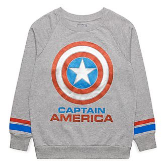 Sweatshirt Captain America Disneyland Paris
