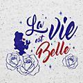 Disneyland Paris La Vie est Belle T-Shirt for Adults