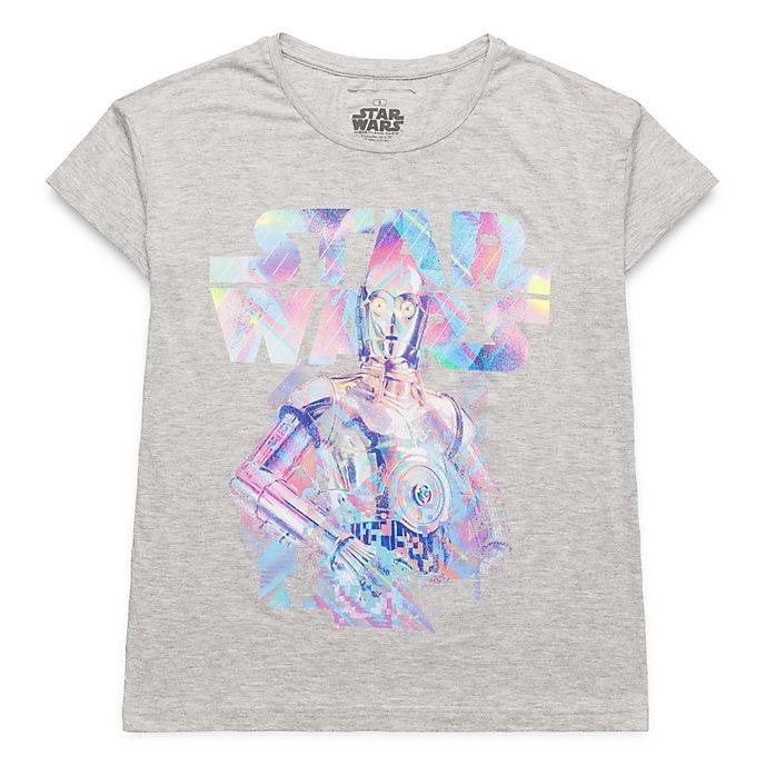 T-Shirt pour adultes Star Wars C-3PO Disneyland Paris