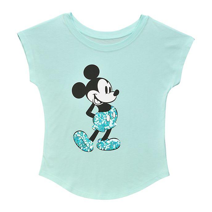 Disneyland Paris Mickey Mouse Aqua Arendelle Ladies' T-Shirt