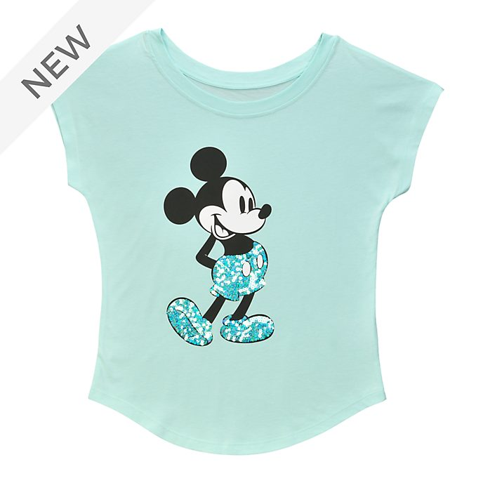 Disneyland Paris Mickey Mouse Aqua Arendelle Ladies' T-Shirt