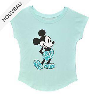 Disneyland Paris T-shirt Mickey Aqua Arendelle pour femmes