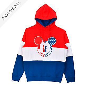 Disneyland Paris Sweatshirt à capuche Mickey Mouse Americana pour adultes