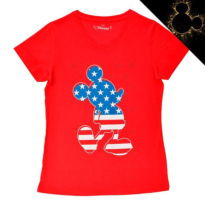 Disneyland Paris T-shirt Mickey Mouse Americana pour adultes