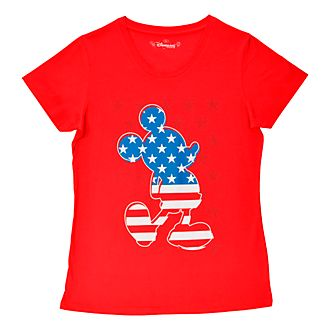 Disneyland Paris Mickey Mouse Americana T-Shirt For Adults