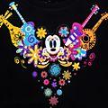 Disneyland Paris Sweat Mickey Dia de los Muertos pour adultes