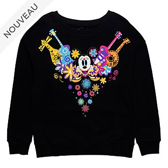 Disneyland Paris Sweat Mickey Dia de los Muertos pour adultes