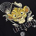 Disneyland Paris Simba Ladies' Tie-Front T-Shirt, The Lion King