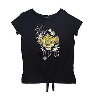 Disneyland Paris T-shirt à nouer Simba pour femmes, Le Roi Lion