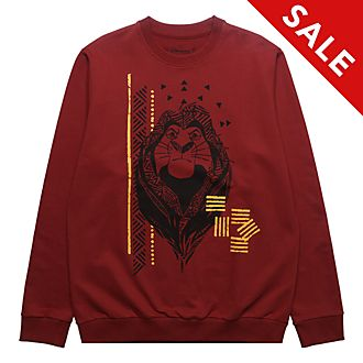 Disneyland Paris Mufasa Hooded Sweatshirt For Adults, The Lion King
